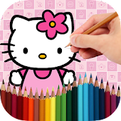 Coloring Book Kitty