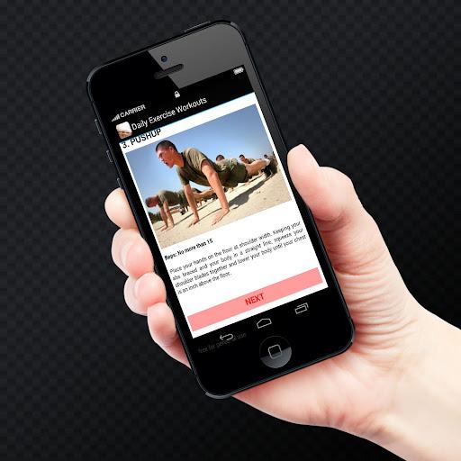 【免費健康App】Daily Exercise Workouts-APP點子