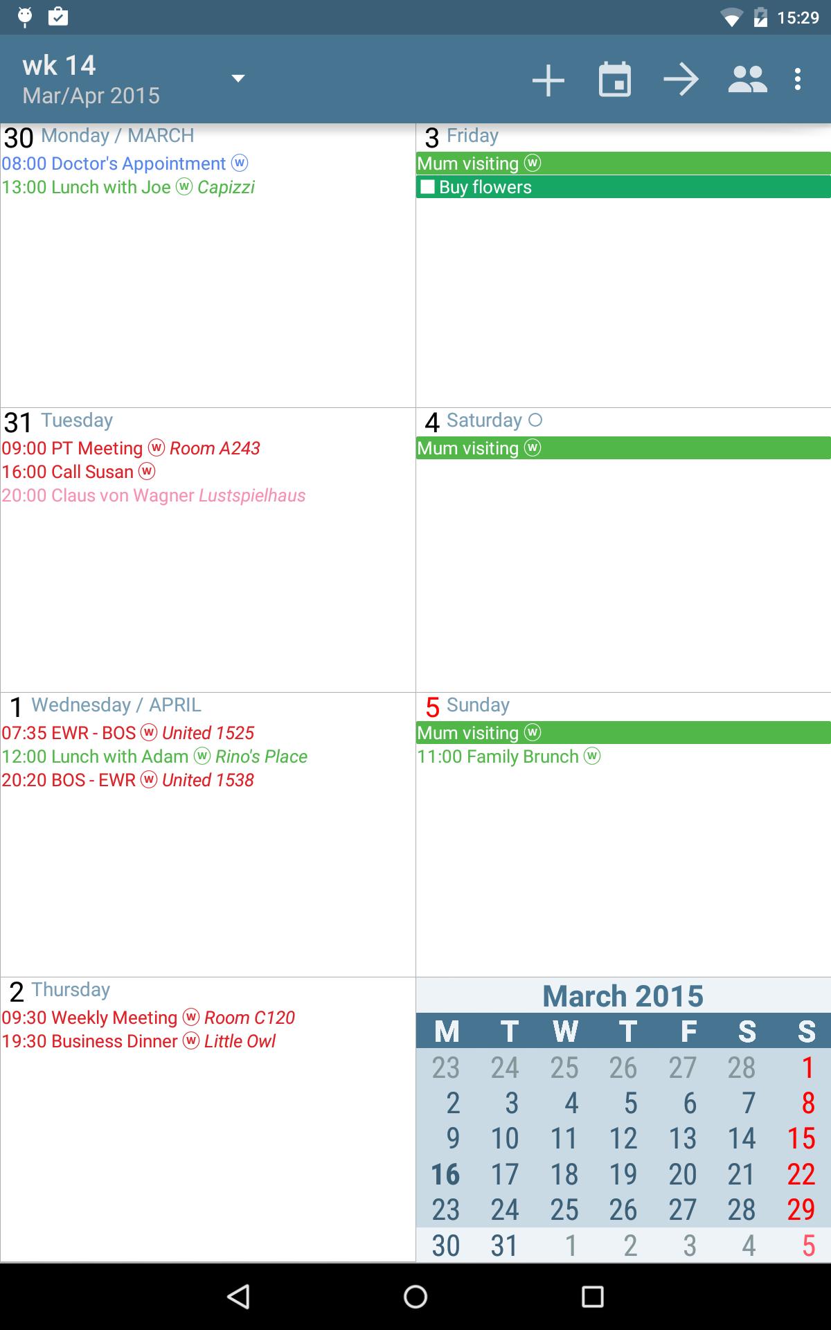 aCalendar+ Calendar & Tasks screenshot #14