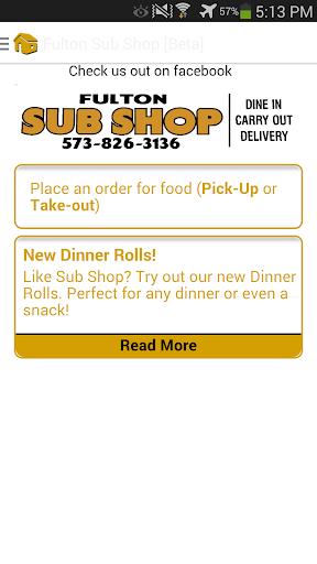 Fulton Sub Shop [Beta]