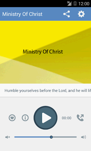 Ministry of Christ