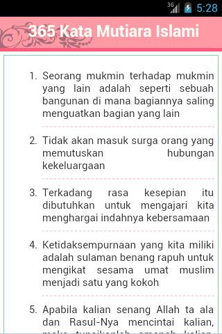 365 Kata Mutiara Islam Android Apps Auf Google Play