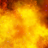 Fire Nebula Live Wallpaper