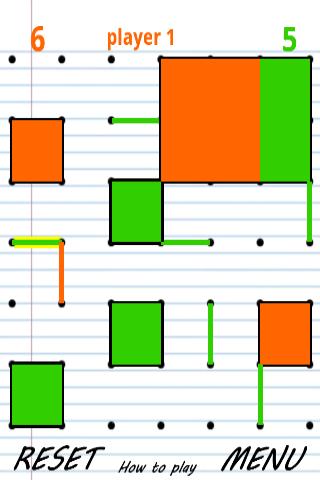 Συνδέστε τις τελείες - στιγμιότυπο οθόνης