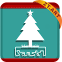 S Christmas Theme GO Launcher logo