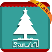 S Christmas Theme GO Launcher