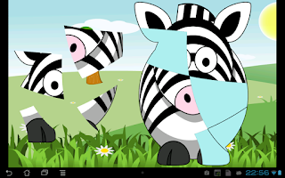 Screenshot of 33 Animal puzzles for toddlers