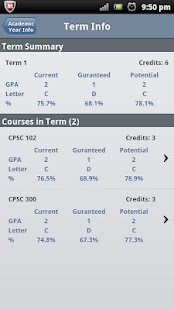 MyGPA Lite - GPA Calculator- screenshot thumbnail