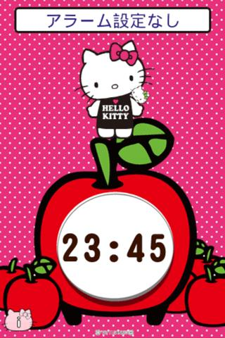 Hello Kitty Alarm - screenshot