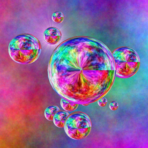 Bubbles In A Cage [free] LOGO-APP點子