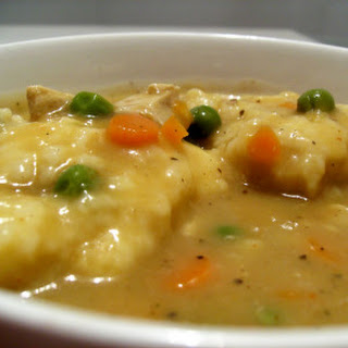 Chicken Stew and Dumplings.