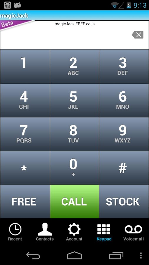 FREE Calls with magicJack - screenshot