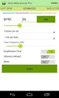 Screenshot of Holo Metronome ( free & easy )