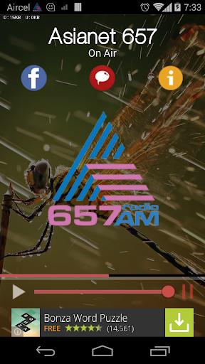 ASIANET 657 RADIO