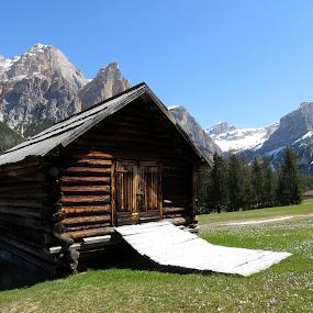 DOLOMITI'S BARN by Riccardo Schiavo - Landscapes Mountains & Hills
