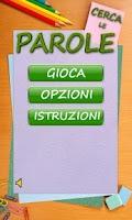 Screenshot of Cerca Le Parole