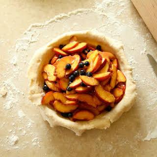 Peach Blueberry Pie.