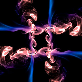 Smoke by Andrew Richards - Digital Art Abstract