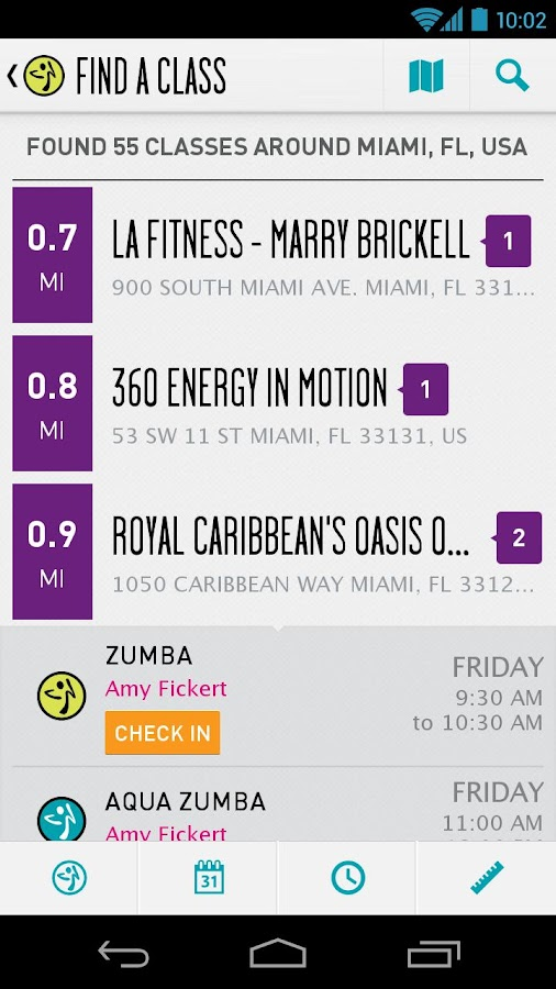 Zumba Fitness- screenshot