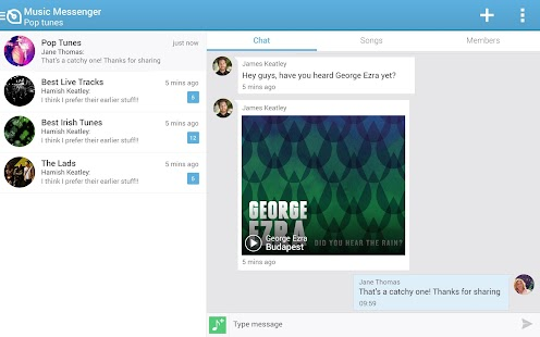 Soundwave - chat share Music