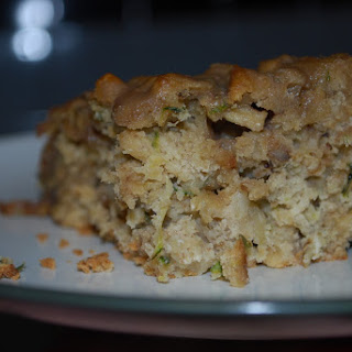 Apple Zucchini Bars.