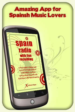 Spain Radio - With Recording