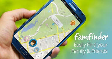 Screenshot of Family Locator - Famfinder