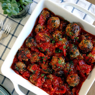 Spinach-Turkey Meatballs