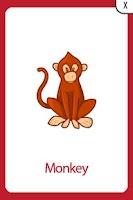 Screenshot of Flashcards Toddler Preschool