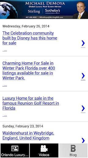 玩免費購物APP|下載Orlando Luxury Real Estate app不用錢|硬是要APP