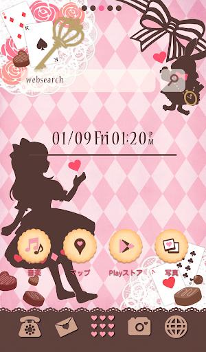 可愛換裝桌布★Chocolate Alice