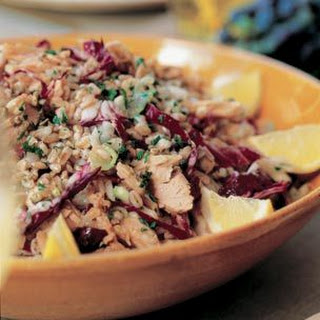 Tuna and Farro Salad