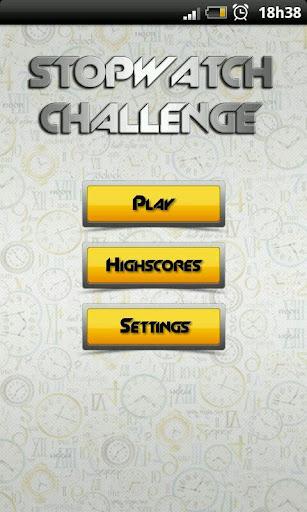 Stopwatch Challenge