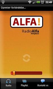 Radio Alfa Midtjylland – miniaturescreenshot