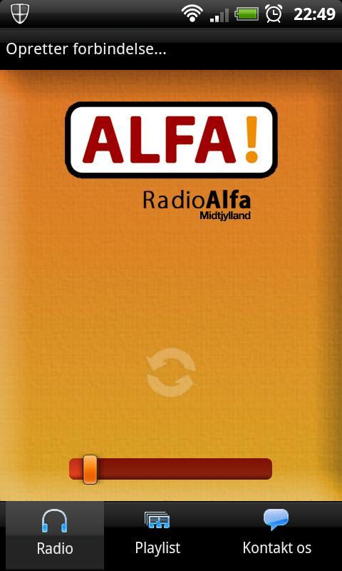 Radio Alfa Midtjylland – screenshot