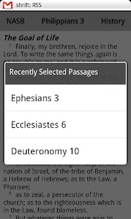 NASB Translation Bible Touch- screenshot thumbnail