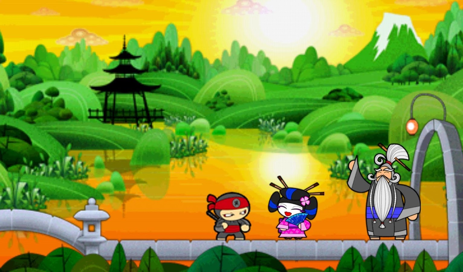 Chop Chop Ninja- screenshot