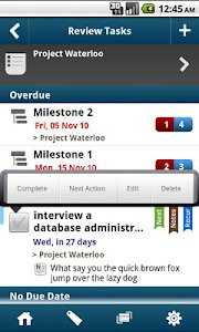 WAToDo! LITE Android ToDoList screenshot 0