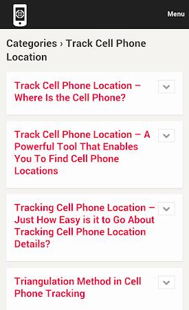 Cell Phone Tracker Tips 1.0 screenshot 9995