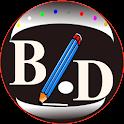Basic Line-Dot Drawing icon