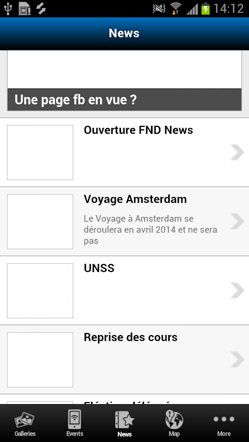 FND News - 2nde G - screenshot