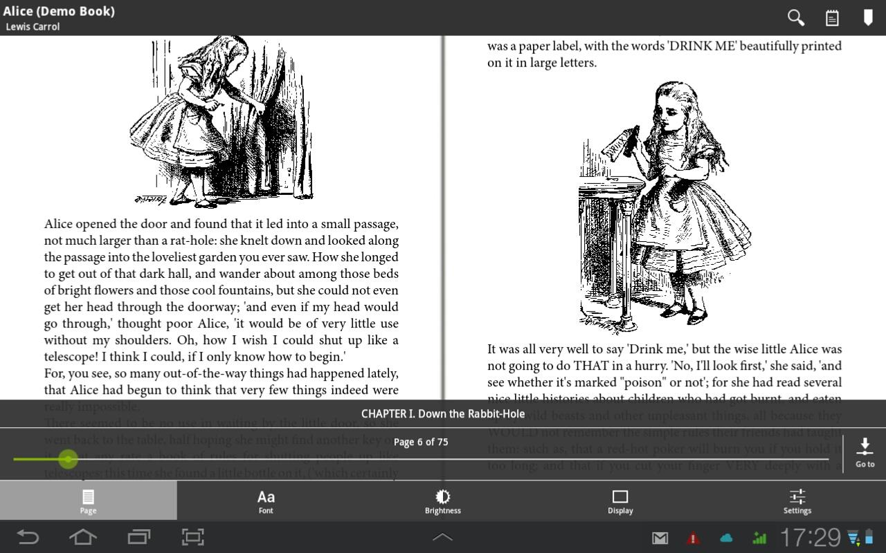 Universal Book Reader- screenshot