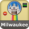 Milwaukee Offline Map Guide icon