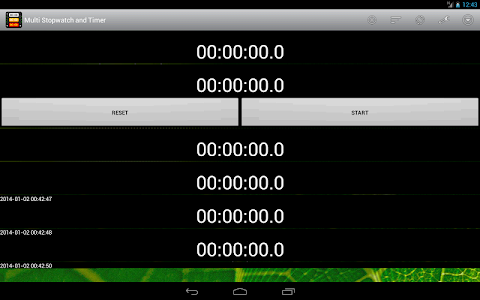 Multi Stopwatch & Timer  free screenshot 10