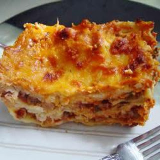 Simple Lasagna.
