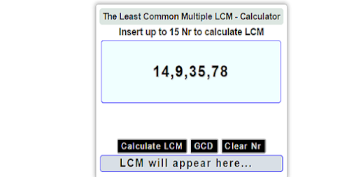 lcm hcf gcd basic concept calculation Concept of lcm and hcf: 1 lcm (least common multiple): the least number which is exactly divisible by each one of the number given 2 hcf (highest common factor) or gcd (greatest common divisor): it is the greatest number that divides the each of the number given.