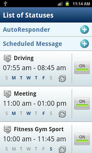 Autoresponder SMS Scheduler