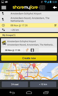 ShareMyFare - screenshot thumbnail