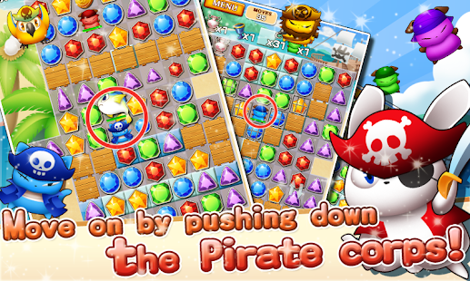Jewel Pirates - Puzzle game - screenshot thumbnail