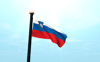 Screenshot of Slovenia Flag 3D Free